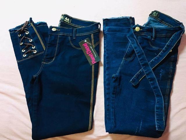 Jeans convencional e flare