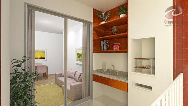 Apartamento com 2 dormitórios à venda, 52 m² por r$ 289.045,34 - urbanova - são josé dos c