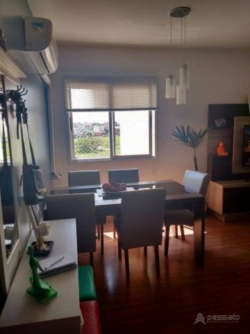 Apartamento com 3 dormitórios à venda, 69 m² por r$ 265.000,00 - vila monte carlo - cachoe - Foto 7