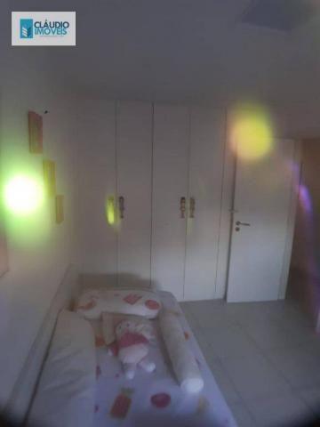 Apartamento com 3 dormitórios à venda, 110 m² por r$ 580.000 - jatiúca - maceió/al - Foto 15