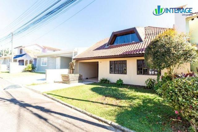 Casa em Condomínio em Santa Felicidade - 2 Andares, 200m², 3 suítes e churrasqueira