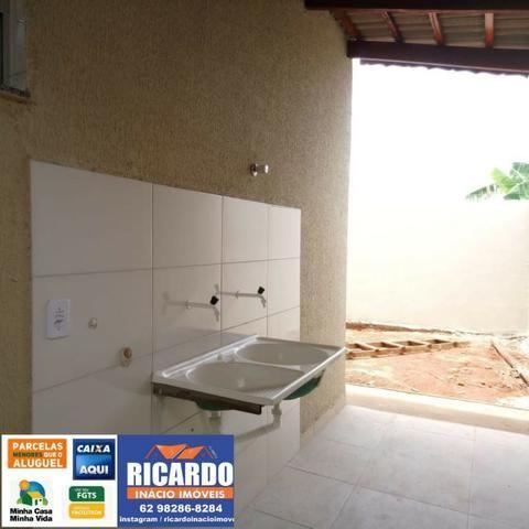 Casa 2/4, Amplo Quintal - Foto 12