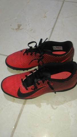 Chuteira Nike Society Bravata Original - Foto 5