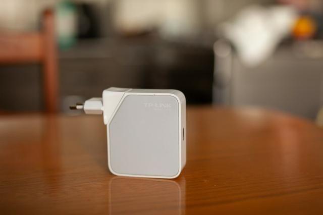 Roteador Tp Link Tl Wr710n Wifi 150mbps Modo Cliente Ap Etc