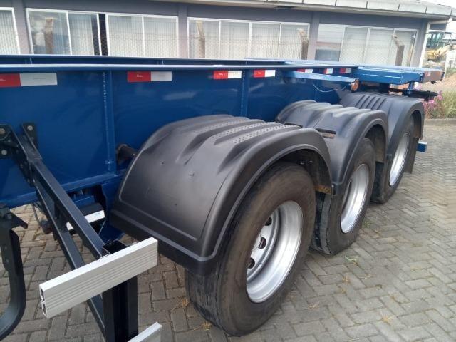 Carreta porta container 12 pinos - Foto 4