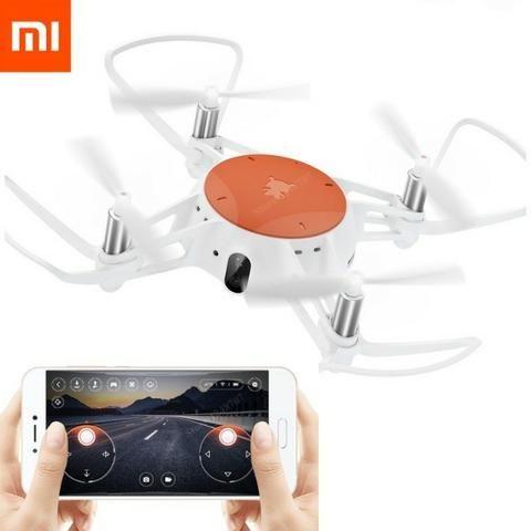 Xiaomi Mitu Mini Drone Com Câmera 720p Hd Wifi Fpv Vs Tello Defeito Wifi - Foto 5