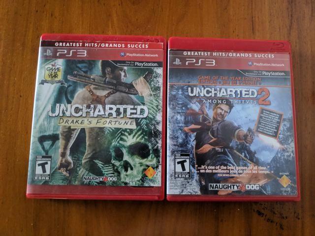 Uncharted 1 e 2