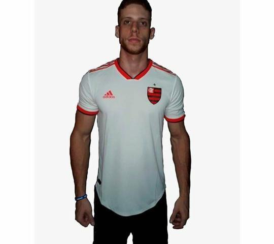Camisa Jogo 2 Flamengo 2018 AUTHENTIC (Linha de jogo)