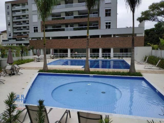 De frente para área verde de preservação, apartamento 3 dormitórios (1ste) 90m², 2 vagas l - Foto 14