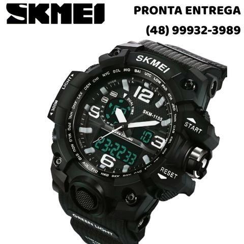 898e82ac01f Relógio Masculino Skmei 1155 Original - Pronta Entrega