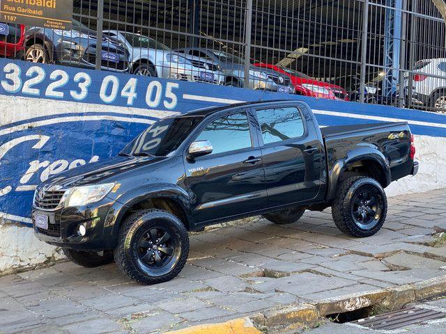 Toyota Hilux Srv 4x4 Automática 2013 Legalizada Alta Placa i - Foto 7