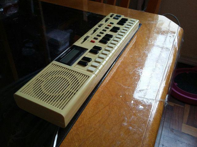 Mini piano eletrônico CASIO VL-TONE (electrónica musical instrumento VL-1)