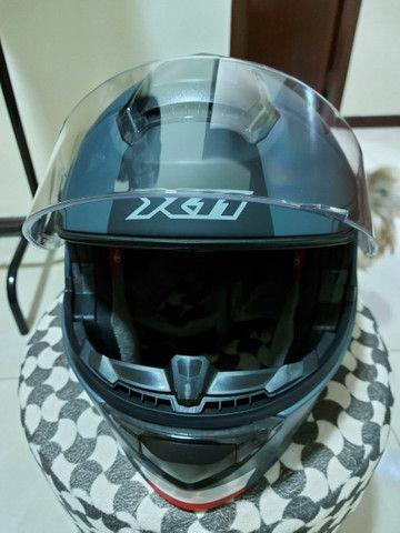 Capacete X 11 robocop com óculos interno top !!!!! - Foto 6