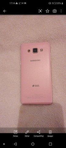 Celular Samsung Rosa carregador original e na caixa - Foto 4