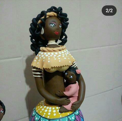 Africanas de biscuit  - Foto 2