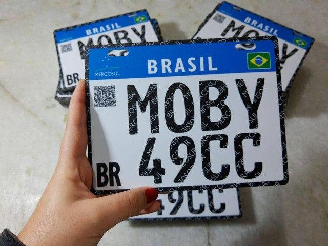Placa Decorativa Moby 49cc - Sem alterações (Leia a descrição por favor) - Foto 6