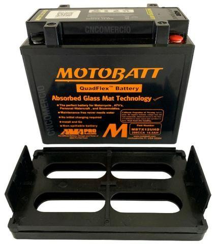 Bateria Motobatt Hd Sportster 883/1200 Bmw R1200 Gs 05-12 Hayabusa 1300 Mbtx12u Ytx14hbs - Foto 6