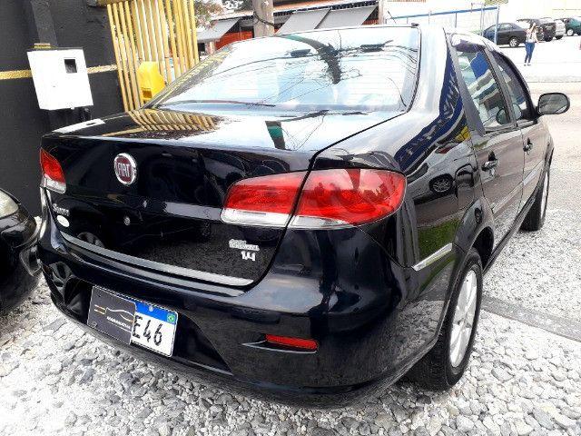 Fiat siena elx 1.4 tetrafuel - gnv original de fabrica