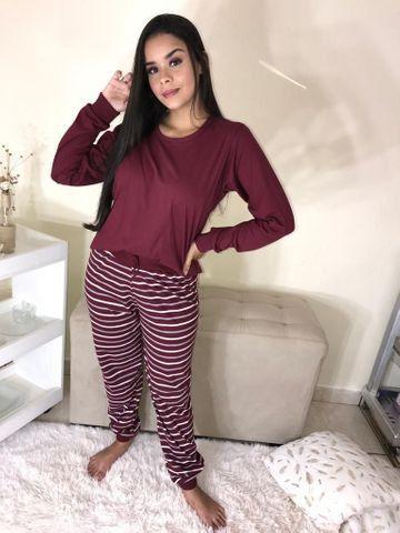 Pijamas malha 100% algodão - Foto 4