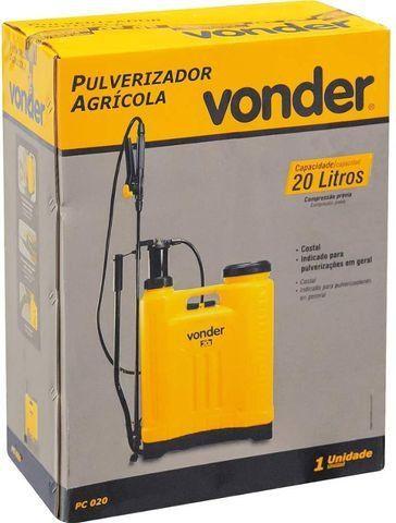 Pulverizador 20 Litros Vonder (Novo) - Foto 2
