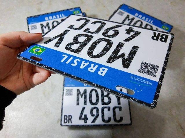 Placa Decorativa Moby 49cc - Sem alterações (Leia a descrição por favor) - Foto 2
