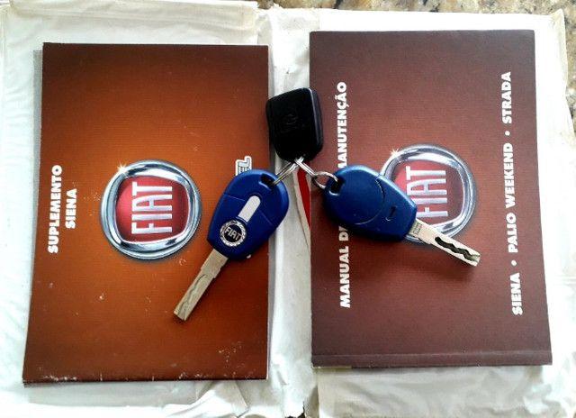 Fiat siena elx 1.4 tetrafuel - gnv original de fabrica - Foto 3