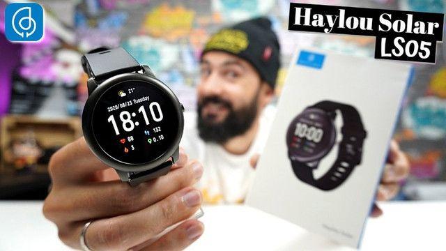 Só Hoje - Relogio Inteligente Xiaomi Smartwatch Haylou SolarLs05 - 100% original - lacrado