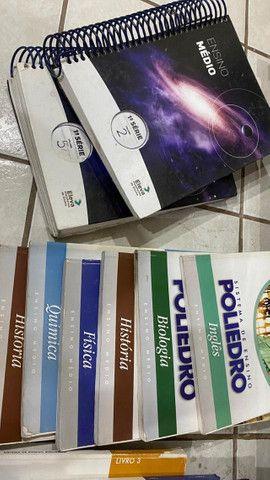 Doação de livros escolares, poliedro, sas - Foto 3