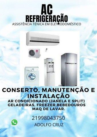 conserto de ar condicionado, geladeira e maq de lavar - Foto 2