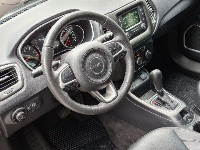 Jeep Compass 2017 2.0 Sport automático flex completo novissímo - Foto 7