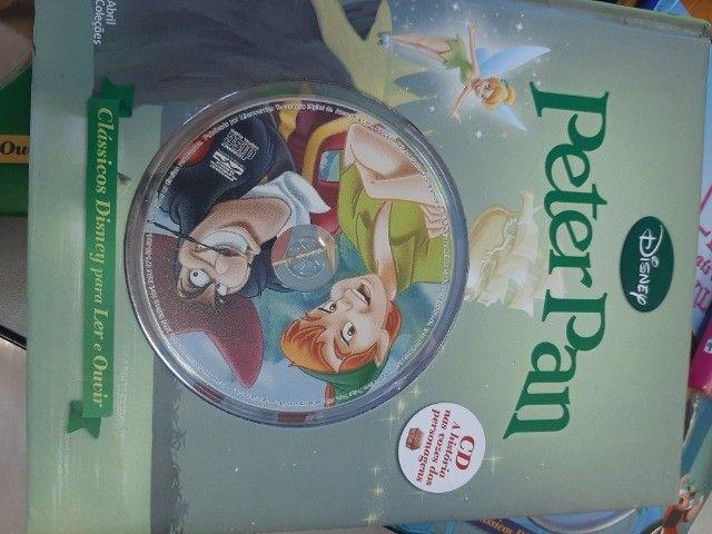 livros Disney com cd