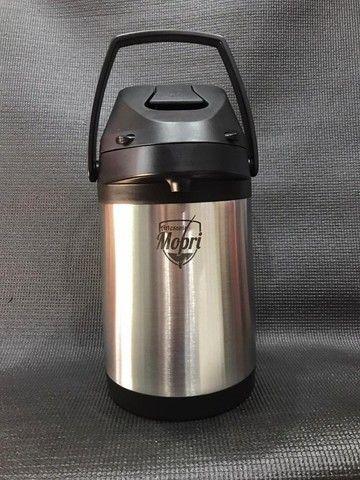 Garrafa Térmica 3l Quente E Frio Aço Inox