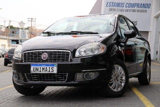 Fiat Linea 1.8 Essence flex manual 2012 preto, lindo! periciado. - Foto 13