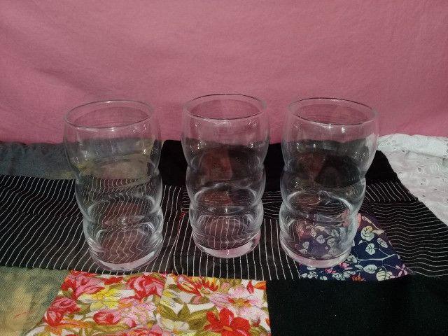 Compre 6 e Leve 9 Copos Grandes de Vidro (Nadir) + Uma Jarra com Alça - Foto 3