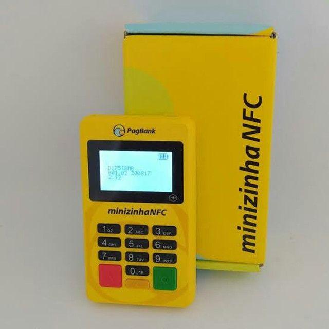 Minizinha NFC - Maquininha de cartão  - Foto 2