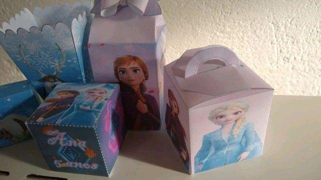 Caixinhas personalizadas para cha de bebe e festas - Foto 4