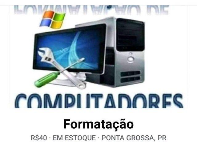 Formatação de computador e notebook - Foto 2