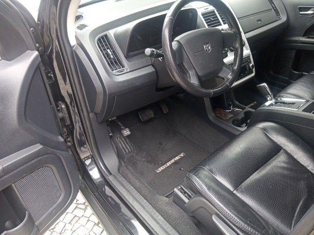 Dodge Journey 2010 Se 2.7 v6 aut/tip+toplinha+couro+cdmp3+revisada+novíssima!!! - Foto 11