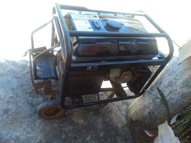 Vendo um gerador semi-novo tel * - Foto 4