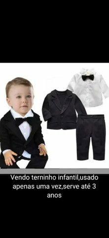 vendo terninho infantil  novo veste até tamanho 3