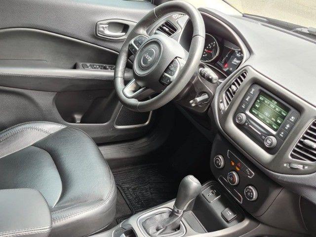 Jeep Compass 2017 2.0 Sport automático flex completo novissímo - Foto 9