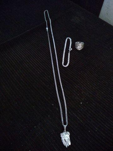 Kit prata  180$ pucera dedeira corda com pigente