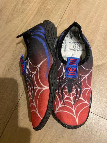 Sapato tênis confort flex infantil MZ