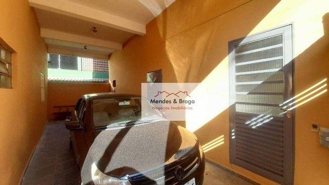 Sobrado com 4 dormitórios para alugar, 160 m² por R$ 2.500,00/mês - Cocaia - Guarulhos/SP - Foto 12