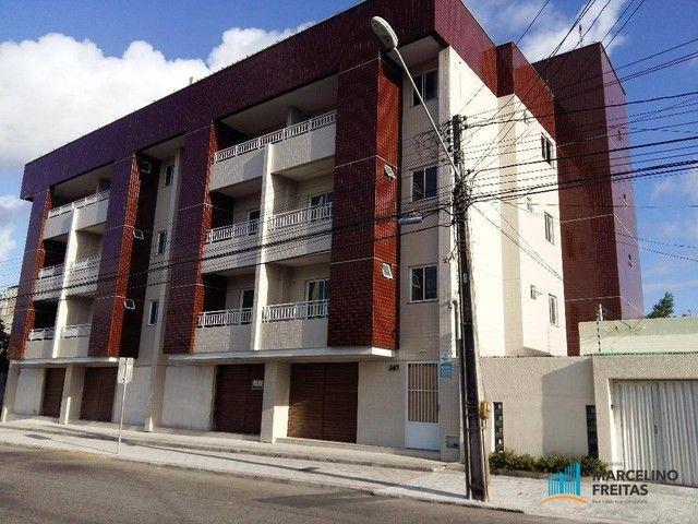 Apartamento com 2 dormitórios para alugar, 67 m² por R$ 1.309,00/mês - Vila União - Fortal - Foto 2