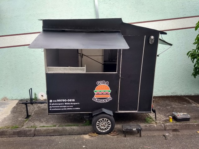 Trailer completo food truck