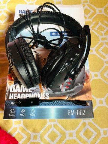 Fone de Ouvido Game HeadPhones - Foto 2