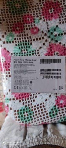 Xiaomi Redmi note 9 128gb/4 de ram valor final - Foto 2