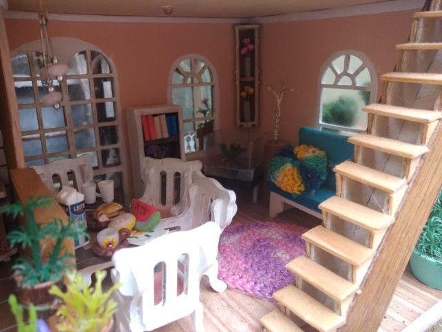 Casa de Bonecas Tipo Maquete  - Foto 5
