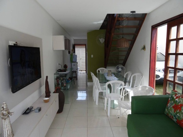 Belíssima casa muito bem mobiliada a beira mar em condomínio de luxo em Maria Farinha! - Foto 5